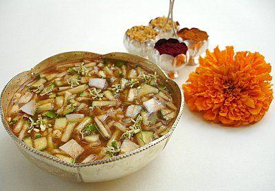Ugadi Pachadi! A little sweet, a little sour,
