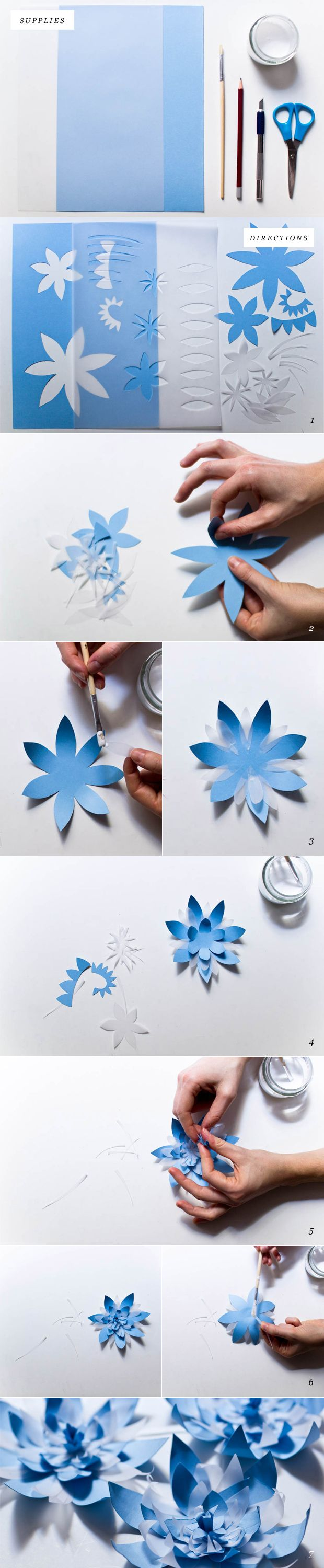 DIY Paper Waterlily