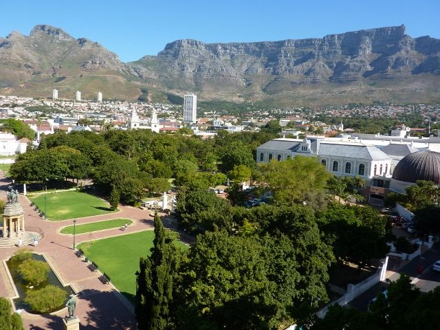 Company Gardens in Cape Town - The garden was originally created in the 1650s by the region's first European settlers and provided fertile ground to grow fresh produce to replenish ships rounding the Cape.