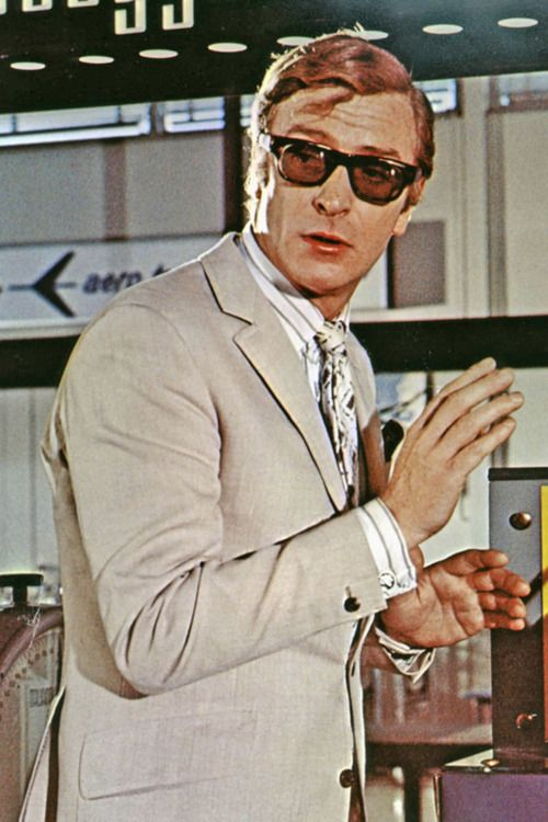 Michael Caine in 'The Italian Job, 1969.