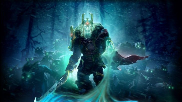 Download Wraith King Ostarion Wallpaper Dota 2 HD 1920x1080