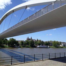 Walking bridge in Maastricht