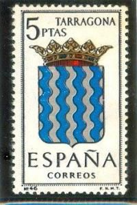 1965 España-Escudo de la Provincia de Tarragona