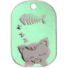 http://www.ipetag.com/sparkle-sleeping-cat-small-4-colour-choices/