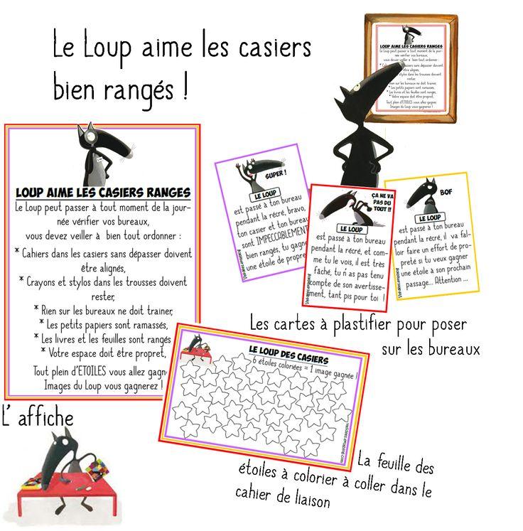 Télécharger « Rangement des casiers avec Loup.pdf » Les images à gagner se trouvent   Pour une classe bien rangée ...  (Un très, très grand MERCI à Emilie) Télécharger «...