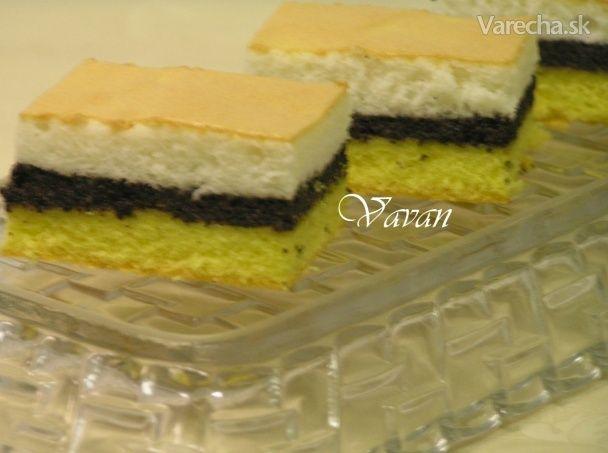 Dvojitý makový koláč (fotorecept) - Recept