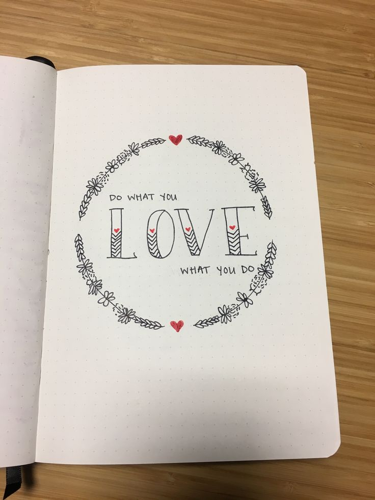 Bullet Journal Quote Page Motivational Quote February
