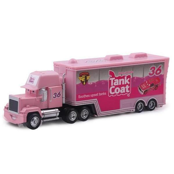 pink metal toy cars