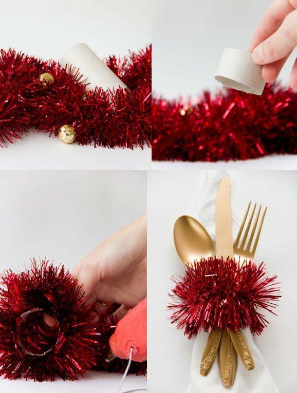 Un piccolo particolare che renderà più natalizia la vostra tavola