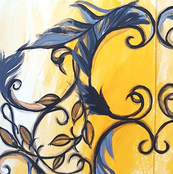 Follow us on link: http://www.crimsonletters.com/custom-hand-painted-wedding-invitations/