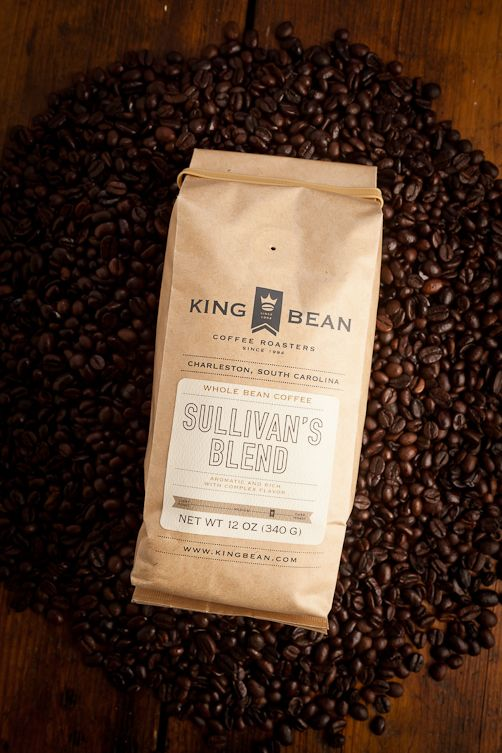 King Bean Coffee Roasters Sullivan's Blend ... hope it's good! They learned their craft in Seattle, New York, and Italy!