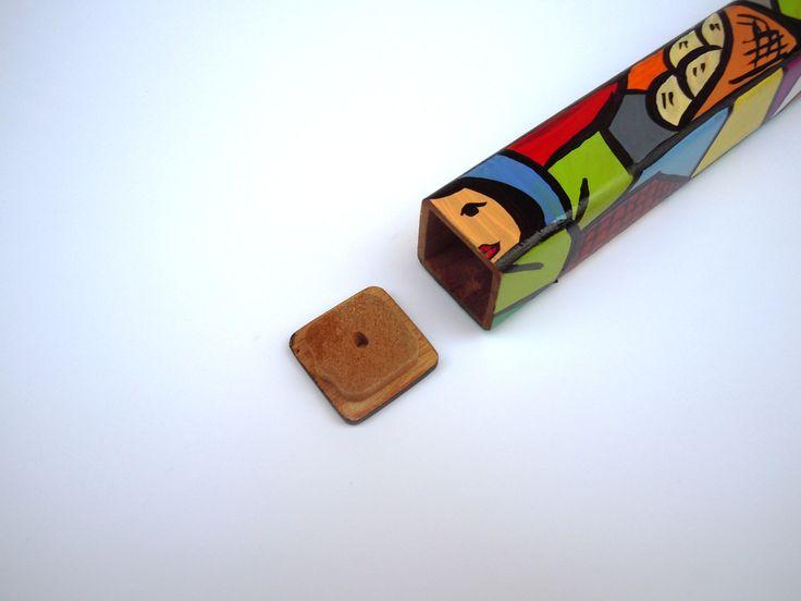 1 Piece Uniqe Cigar Case, wood cigar case, Tubes, Cigars,Cedar Cigar Tubes, Cigar Accesories, Travel Cigar Case, Cigar Case, Cigar Holder by Hondurascrafts on Etsy