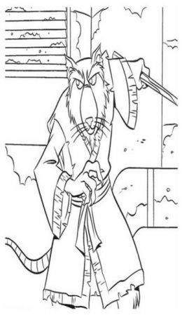 tmnt coloring pages on pinterest - photo#14