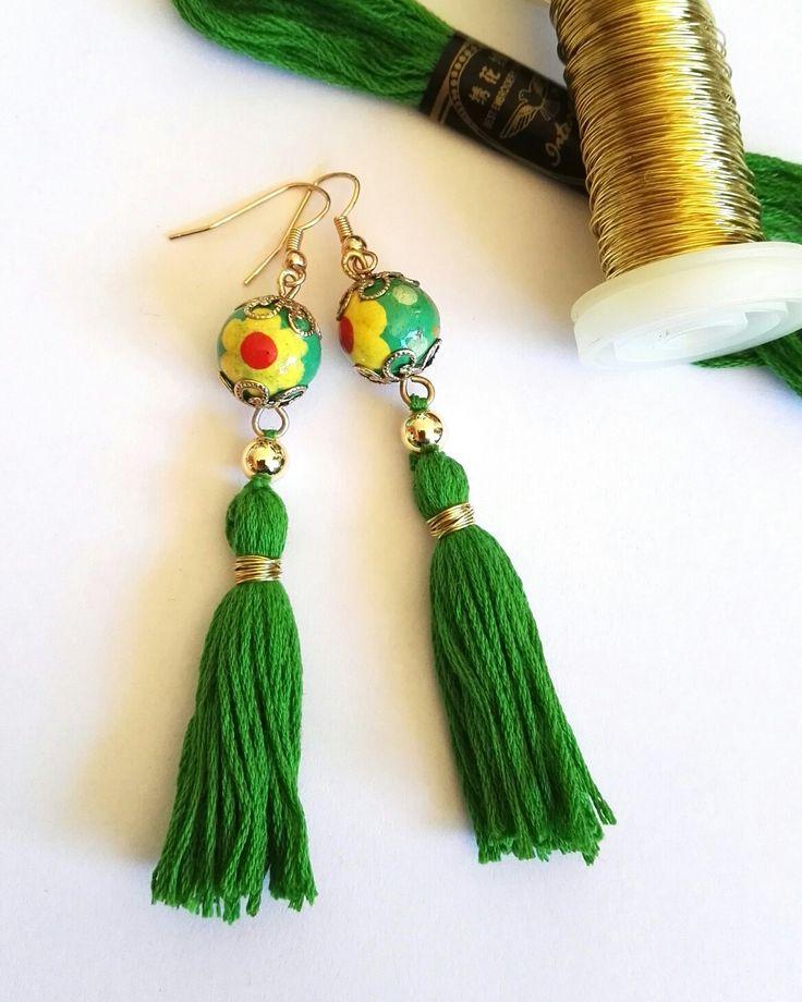 Selfmade boho jewellery