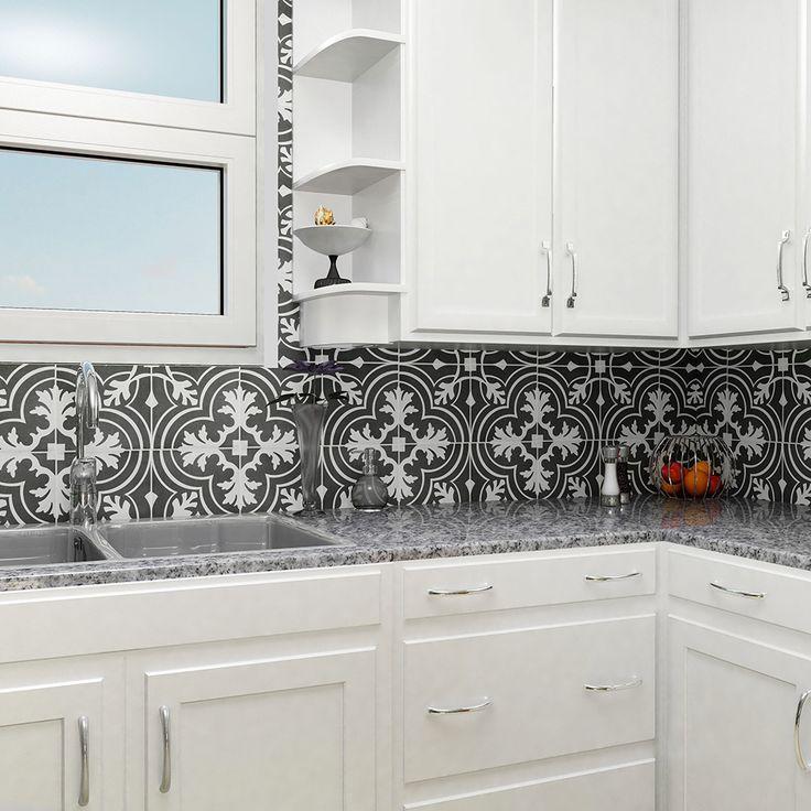 The SomerTile 775x775 inch Thirties Classic Ceramic Floor