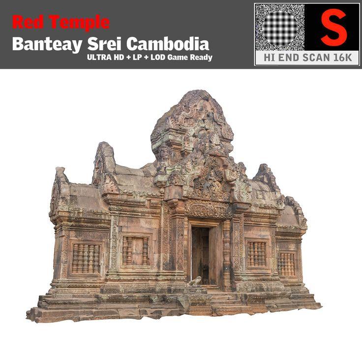 obj banteay srei red temple