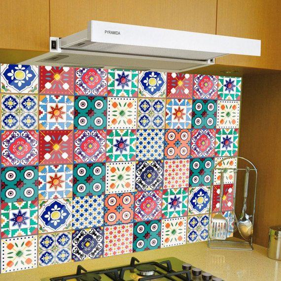 17 mejores ideas sobre azulejos de pared de cocina en - Vinilos para azulejos de cocina ...
