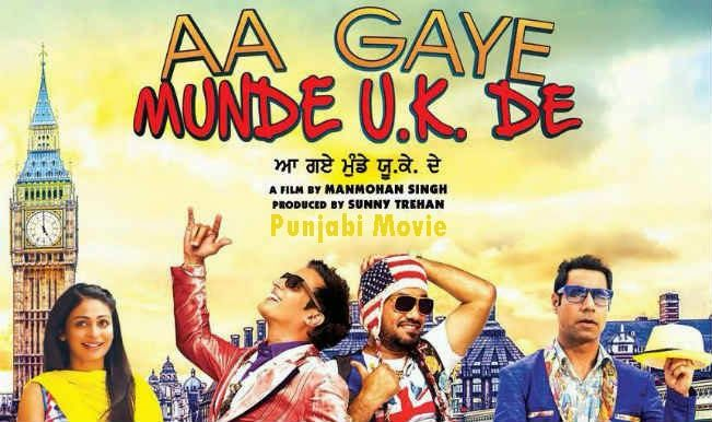 Aa Gaye Munde U.K. De is a Punjabi language movie. This is a sequel of a blockbuster movie Munde U. K. De. The releasing date of this movie is 08 August 2014. Directions of this movie are given by Manmohan Singh. This movie is produced by Sunny Trehan.  Distributer compny of this movie is Yash Raj Films. The language of this movie is Punjabi with English Subtitles.  Main cast and crew of this movie is Nero Bajwa, Jimmy Shergill, Binnu Dhillon, Gurpreet Ghuggi,