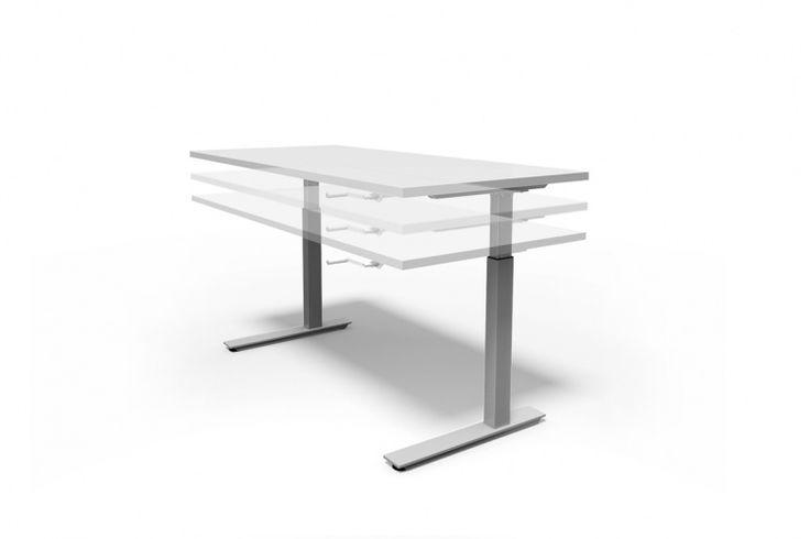 Ergo Wind Up Desk - Rockdale Office Furnishers