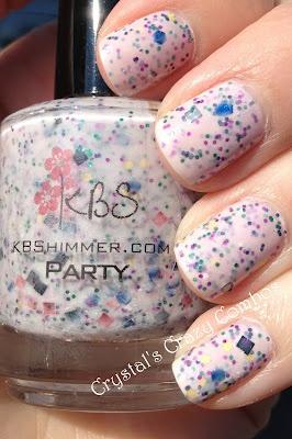 Crystal's Crazy Combos: KBShimmer - Party: Hair Nails Make Up, Art, Nail Designs Polish, Nails Hair, Nails Galore, Wicked Nails, Neato Nails, Creative Nails