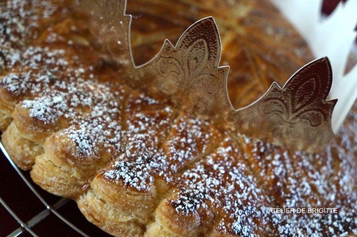 Galette frangipane Chocolat et Café - Atelier de Brigitte (Gironde 33230 COUTRAS, LIBOURNE, SAINT-DENIS de PILE, SAINT-SEURIN/L'ISLE) cuisine, recettes, partages,