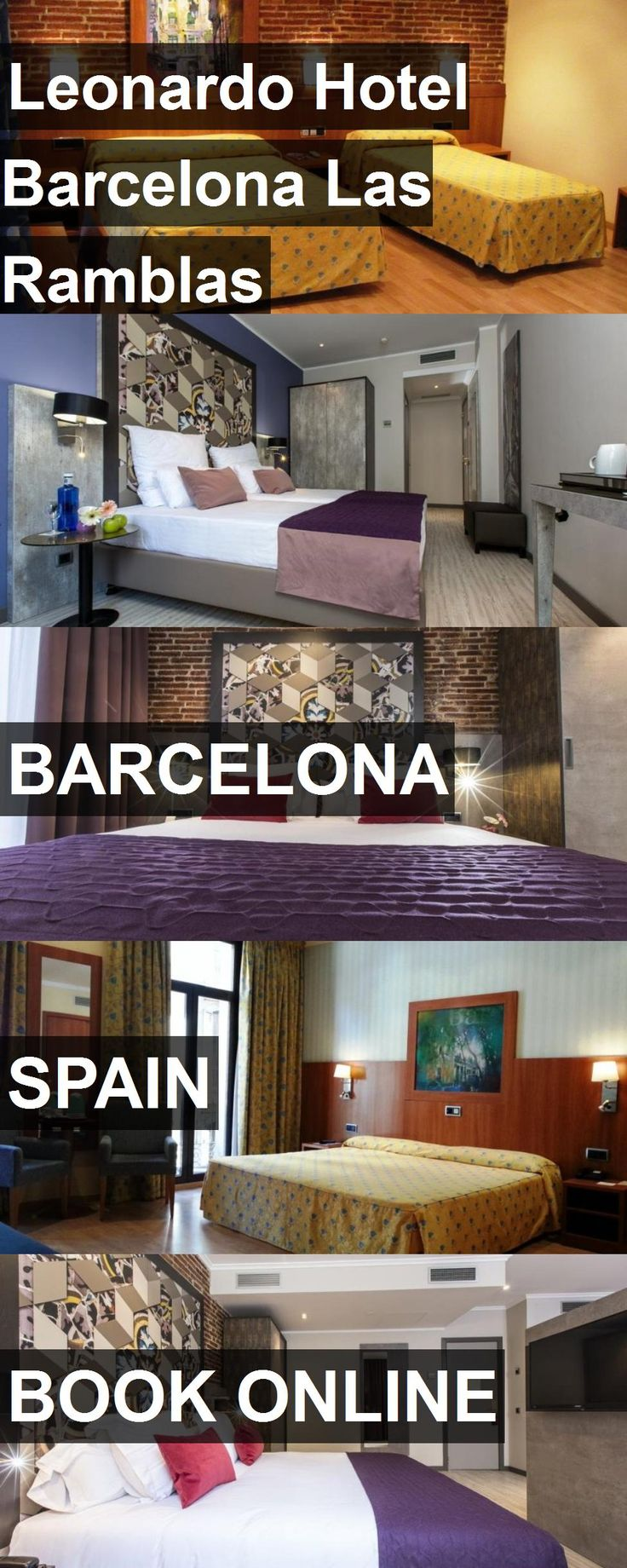 Hotel Leonardo Hotel Barcelona Las Ramblas in Barcelona, Spain. For more information, photos, reviews and best prices please follow the link. #Spain #Barcelona #LeonardoHotelBarcelonaLasRamblas #hotel #travel #vacation