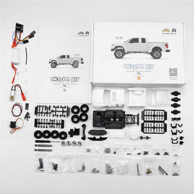 Orlandoo OH35P01 F150 1/35 EP Scale Simulation Climbing RC Crawler Car Parts DIY Assemble KIT