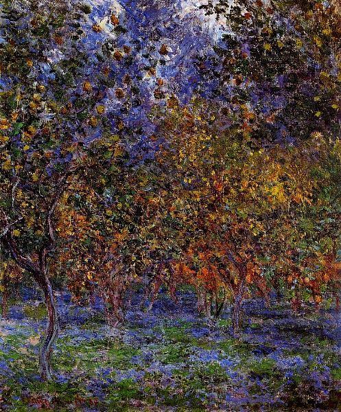 """"""" Claude Monet (Fr. 1840-1926), Sous les citronniers, 1884, huile sur toile, Copenhague"""