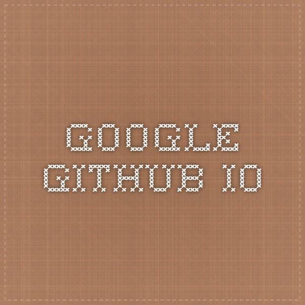 google.github.io