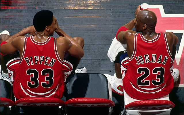 Wasn't everyone a Bulls fan in the 90's. My brother was obsessed with Michael Jordan!