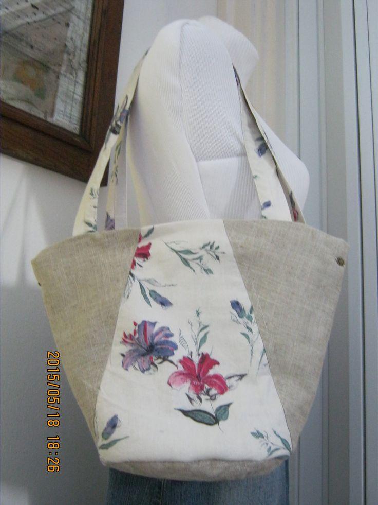 lenvászon nyári táska