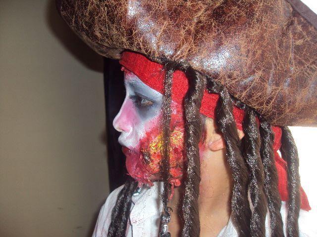Daniel Cubillos. Maquillaje por Juliana Cubillos. Halloween 2013.