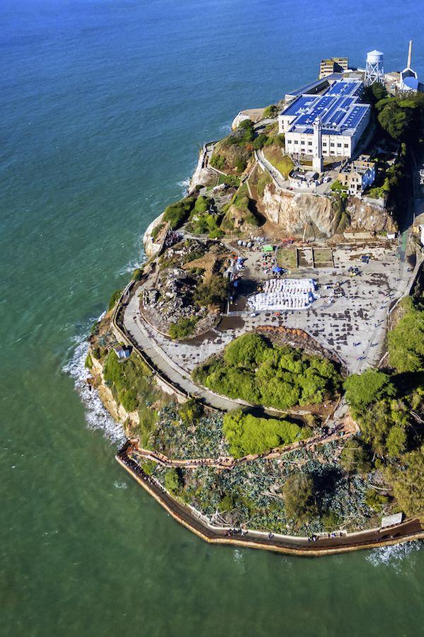 Alcatraz Island Not Especially A Beautiful Place Especially From