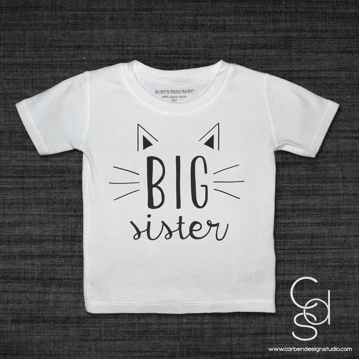 - Short-sleeve Tshirt with Vinyl Heat Transfer - 100% Organic Cotton, Burt's Bees Brand Tee - Available in Sizes: 12M, 18M, 2-3T, 4T, 6-7 - Machine Wash using mild detergent. Do not use bleach. Dry at