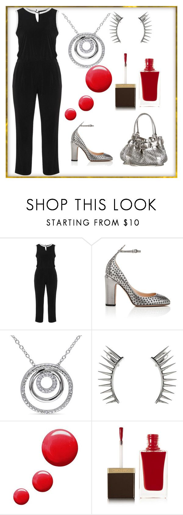 """""""Stacy's mom"""" by vegas777 ❤ liked on Polyvore featuring Dresses Unlimited, Valentino, Miadora, Latelita, Topshop, Tom Ford and Burberry"""
