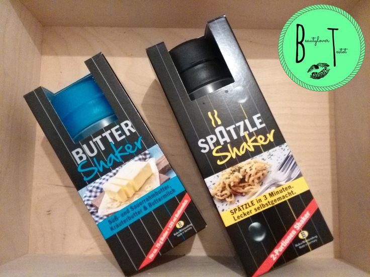 Ich durfte den Spätzle-Shaker sowie den Butter-Shaker von Spätzle-Shaker testen