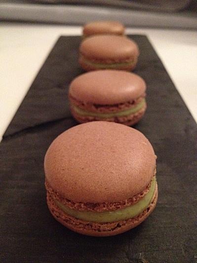 bonne recette de macarons chocolat pistache