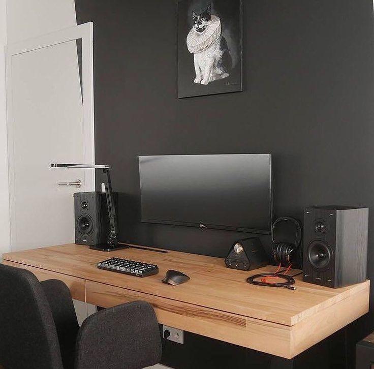 20 Trendy Minimal Home Office Design Ideas: Best 25+ Modern Office Desk Ideas On Pinterest