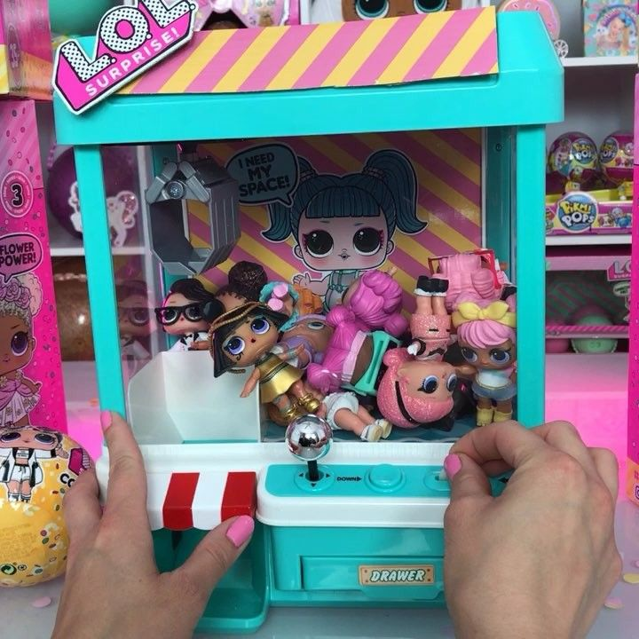 Get Ready To Play Our Lol Surprise Claw Machine Game Watch The