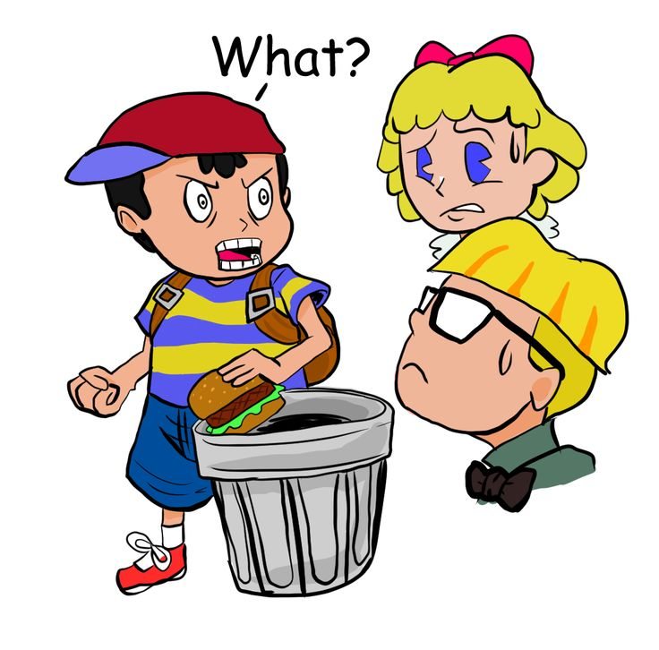 Ness and his garbage burger