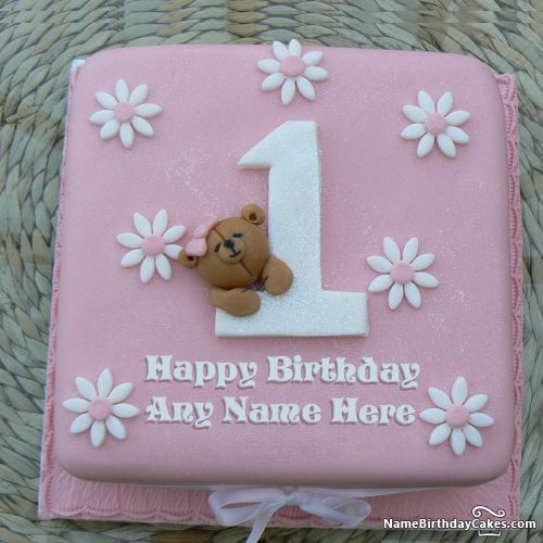 Cute And Sweet Birthday Cake With Your Name Write Name On: 19 Best Images About Name Birthday Cakes For Sister On