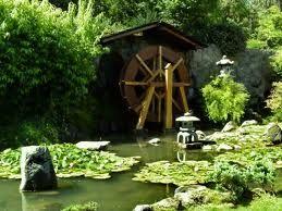 Jardin Japones, esta ubicado en cerro san cristobal