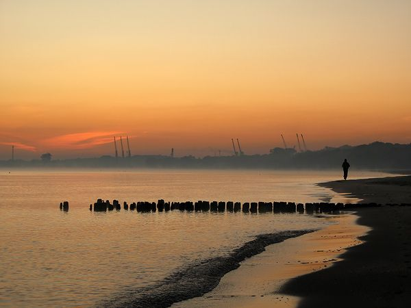 Gdansk, the beach