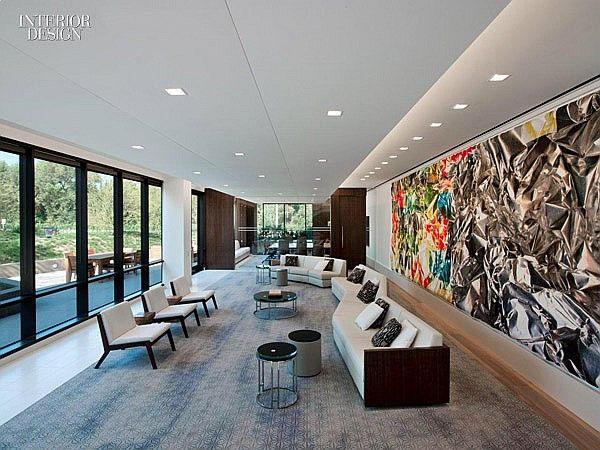 On location united talent agency offices by rottet studio for Office design agency