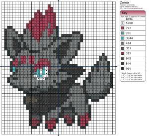81 Best Pokemon Cross Stitch Patterns Images On Pinterest