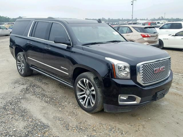 Salvage 2017 Gmc Yukon For Sale In New Jersey Auctioncars
