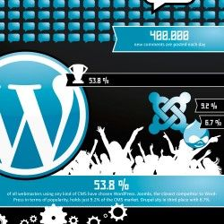 We've long since known the power of the WordPress platform and how it enhances the way we interact with websites on a day to day basis. But just how p