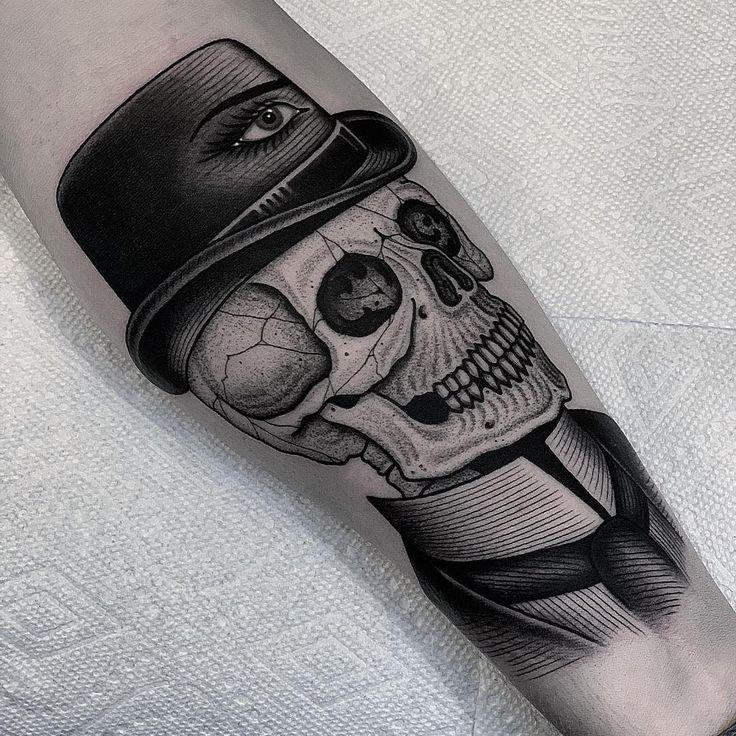 Tattoo by BlackCasketTyler Stippling tattoo, Dark