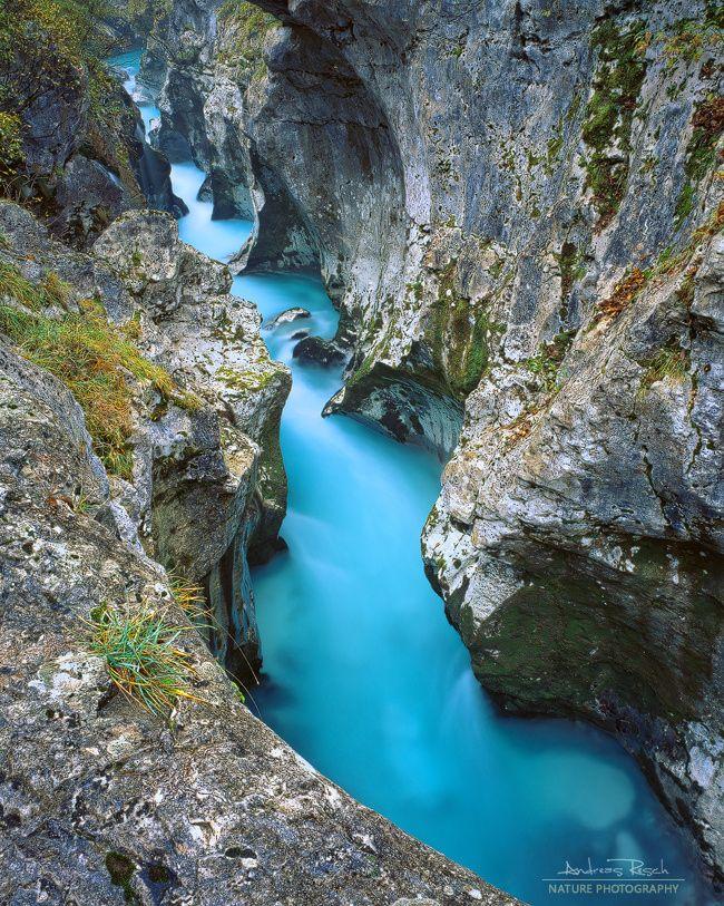 río Soca en Eslovenia