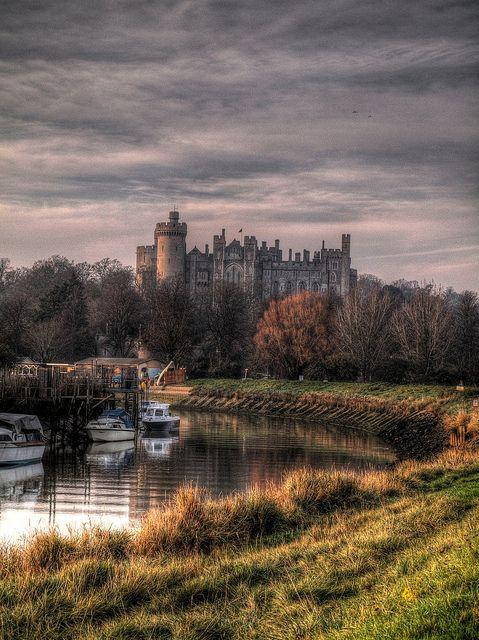 Arundel Scenic HDR, Sussex, UK by PhilnCaz, via Flickr